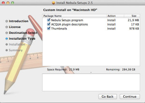 New in v2.5 - Mac OS X installer